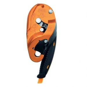 I-DS Compact self-braking, RAAST descender with anti-panic function, RAAST