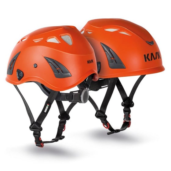 Plasma AQ Orange Climbing Safety Helmet, RAAST